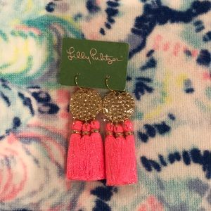 NWT lilly pulitzer GWP earrings